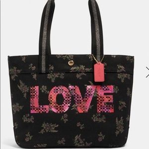 Coach Tote w/ Jason Naylor Graphic